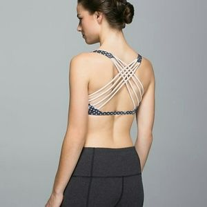 Lululemon Free To Be *Wild Sports Bra